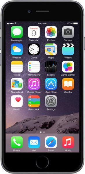 (Refurbished) Apple iPhone 6 (Space Grey, 128 GB)