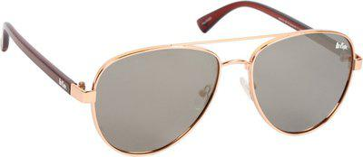 Lee Cooper Aviator Sunglasses(Golden)