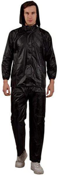 Tryo Solid Men & Women Raincoat