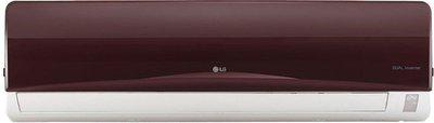 LG 1 Ton 3 Star Inverter AC  - Nova Red(JS-Q12RUXA, Copper Condenser)