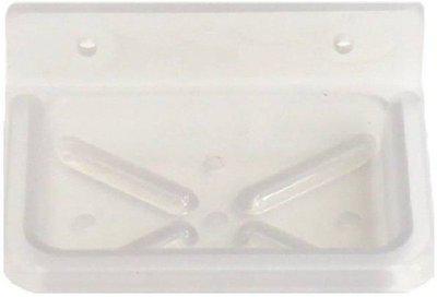 Prestige Acrylic Unbreakable Square Soap Dish(White)