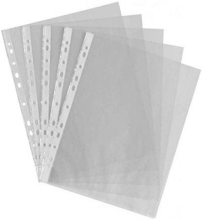 Generic Transparent Clear l folder(Set Of 50, transperant)