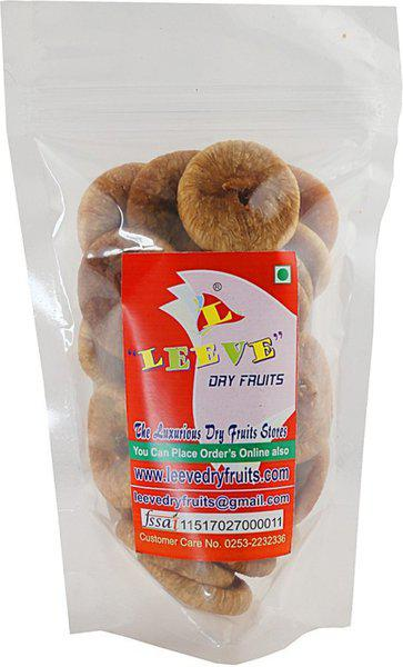 Leeve Dry fruits Dried Figs(400 g, Pouch)