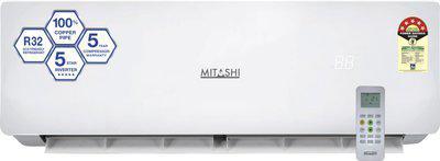 Mitashi 1 Ton 5 Star Split Inverter AC - White(MiSAC105INv35, Copper Condenser)