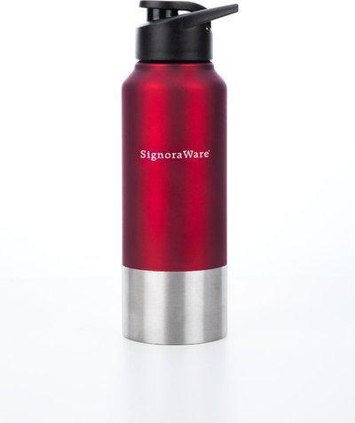 Signoraware 700 ml Water Purifier Bottle(Red)