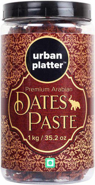 Urban Platter Arabic Dates Paste[All Nature, Healthy, Vegan] 1 kg