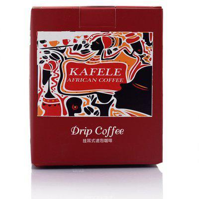Nick of Time KAFELE AFRICA - DRIP COFFEE BAGS Roast & Ground Coffee(100 g)