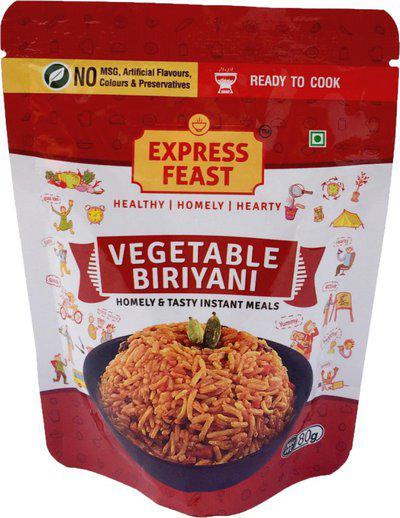 Express Feast Ready to Meal Veg Biryani 400 g