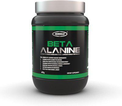 BIG MUSCLES Beta Alanine Nutrition Drink(400 g, Unflavoured Flavored)