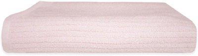 Divine Overseas Cotton Terry, Microfiber 461 GSM Bath Towel(Pink)