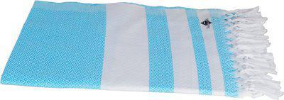 Sathiyas Cotton 500 GSM Bath Towel Set(Pack of 2, Lavender, Blue)