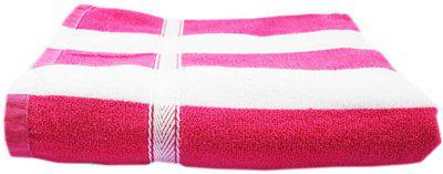 K.S. Collection Cotton Terry 450 GSM Bath Towel(Pink)