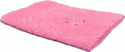 Jass Home Decor Cotton 100 GSM Bath Towel(Pink)