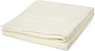 SPACES Cotton 450 GSM Bath Towel(Yellow)