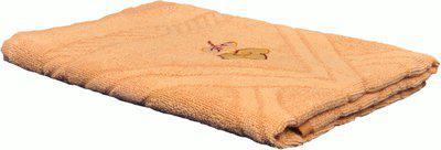 Jass Home Decor Cotton 100 GSM Bath Towel(Beige)