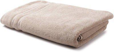 WELHOME Cotton 380 GSM Bath Towel(Brown)