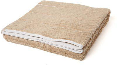 SPACES Cotton 575 GSM Bath Towel(Brown)