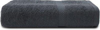 WELHOME Cotton 380 GSM Bath Towel(Grey)