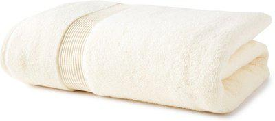 SPACES Cotton 545 GSM Bath Towel(Yellow)