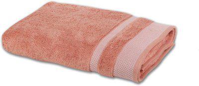 SPACES Cotton 600 GSM Bath Towel(Pink)