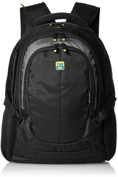 Travel Blue 15.6'' 15.6 L Laptop Backpack(Black)