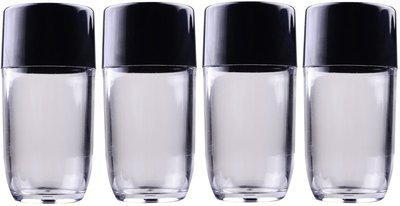 Majik Empty Bottles To Store Oil / Empty Bottle For Medicine 25 grams (Set Of 4 Bottles ) 30 ml Bottle(Pack of 4, White)