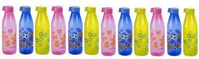 Nayasa Multicolour Melon Fridge Bottles (Pack of 12) 1000 ml Bottle(Pack of 12, Multicolor)