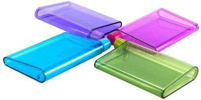 K kudos Enterprise A5 Size Memo Notebook Style Flat Portable Bottle Set of 4 (420ML) 420 ml Bottle(Pack of 4, Multicolor)