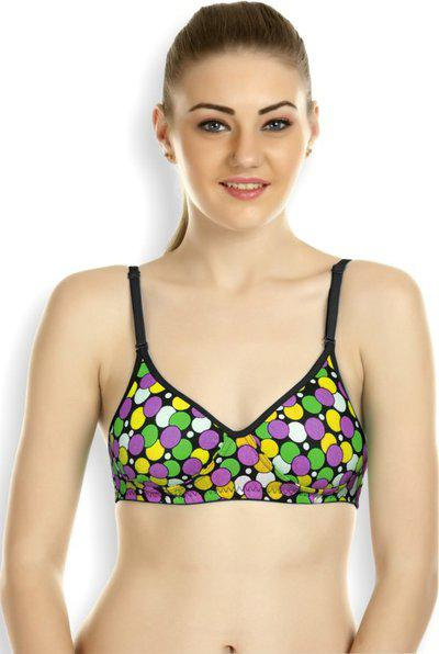 Tweens Bybelle Lingeries Fashion Women Full Coverage Lightly Padded Bra(multicolor)