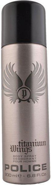 Police Titanium Wings Deodorant Spray  -  For Men(200 ml)