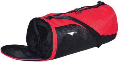 Gene SPORTS RED Gym Bag(Red, Black)