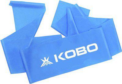 Kobo Power (Medium) Aerobic Cardio & Exercise Resistance Band(Blue)