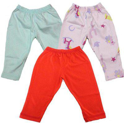 Magic Train Track Pant For Boys & Girls(Multicolor, Pack of 3)