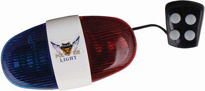Asraw POLICE LIGHT ELECTRIC HORN LED Front Light(Multicolor)