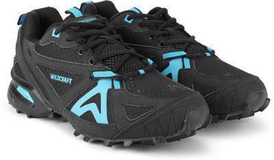 Wildcraft Craggrip Leap Running Shoes For Men(Black, Orange)