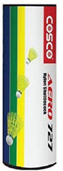 Cosco aero 727 (pack of 6 ) Nylon Shuttle  - Multicolor(Medium, 77, Pack of 6)