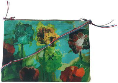 Leaf Designs Multicoloured Floral Sling Bag