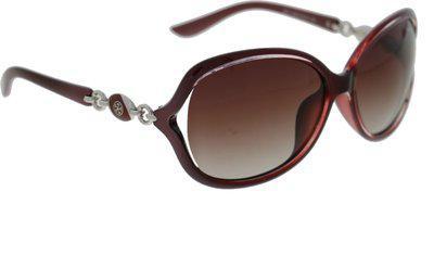 Vast Oval Sunglasses(Black)
