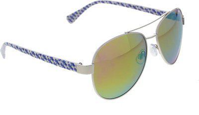 Vast Aviator Sunglasses(Golden)