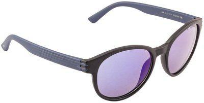 Farenheit Round Sunglasses(Blue)