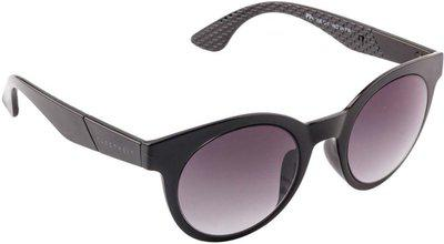 Farenheit Round Sunglasses(Black)