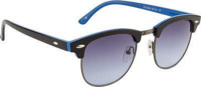 Ted Smith Clubmaster Sunglasses(Blue)