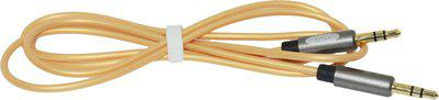 Cross CR-010 AUX Cable(Mobile, Laptop, Tablet, Mp3, Gaming Device, Gold)