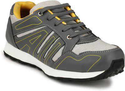 Sir Corbett Running Shoes For Men(Grey)