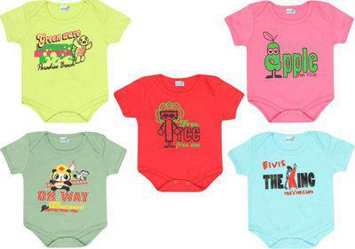 Dongli Baby Boys & Baby Girls MPINK, SAGE, Red, LGREEN, SKBLUE Bodysuit