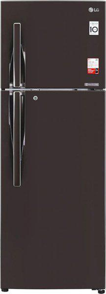 LG 335 L Frost Free Double Door 3 Star (2020) Convertible Refrigerator(Russet Sheen, GL-T372JRS3)
