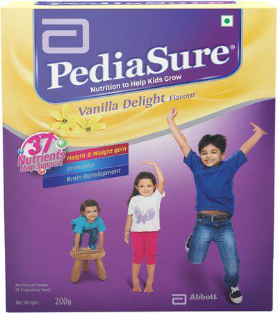 PediaSure Vanilla Delight Nutrition Drink(200 g, Vanilla Delight Flavored)