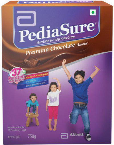 PediaSure Premium Chocolate Refill Pack Nutrition Drink(400 g, Chocolate Flavored)