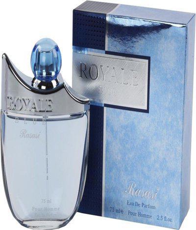Rasasi Royale Blue Men - EDP Perfume Body Spray  -  For Men(75 ml)
