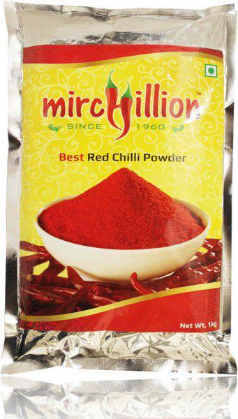 Mirchillion Best Guntur Chilli Powder(1000 g)
